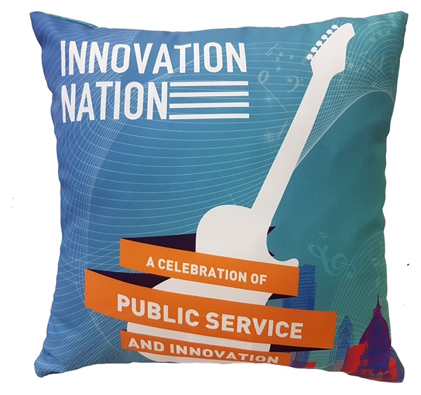 INNOVATION NATION Event Pillow