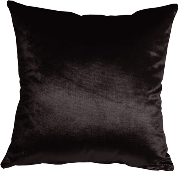 Milano 16x16 Black Decorative Pillow