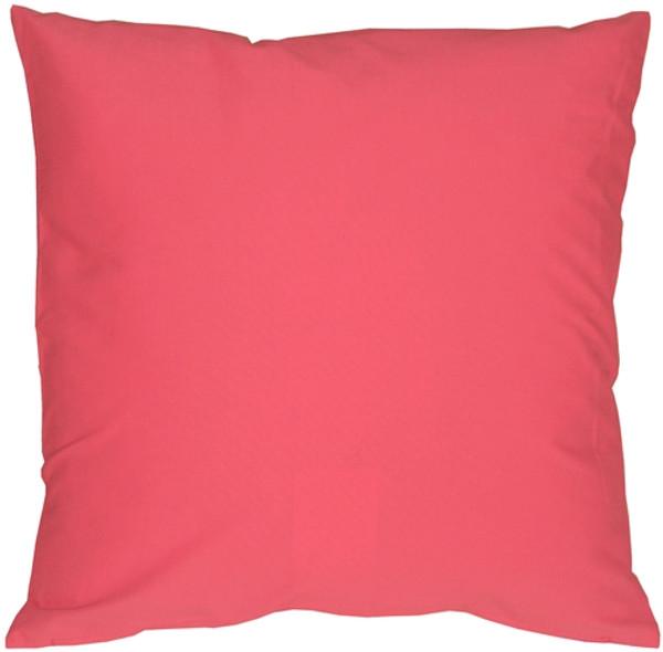 Caravan Cotton Pink 20x20 Throw Pillow