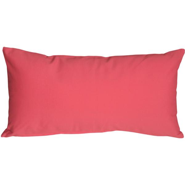 Caravan Cotton Pink 9x18 Throw Pillow