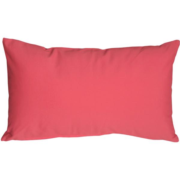 Caravan Cotton Pink 12x20 Throw Pillow