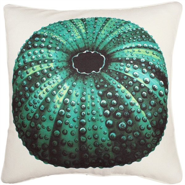 Jekyll Island Sea Urchin Throw Pillow 26x26