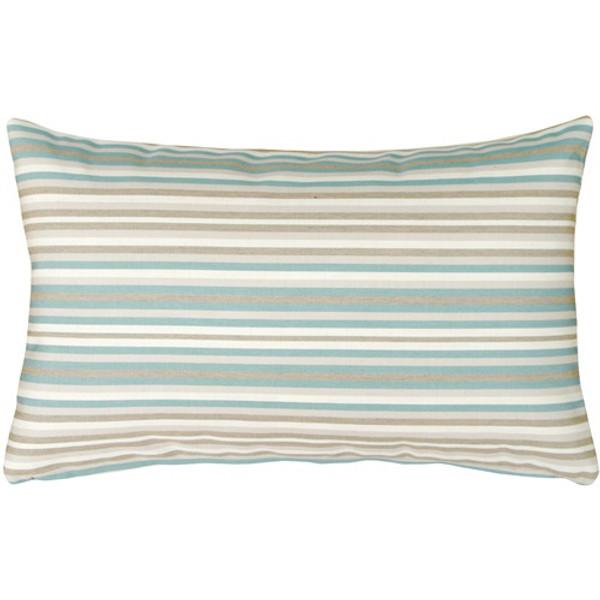 Sunbrella Gavin Mist 12x19 Outdoor Pillow