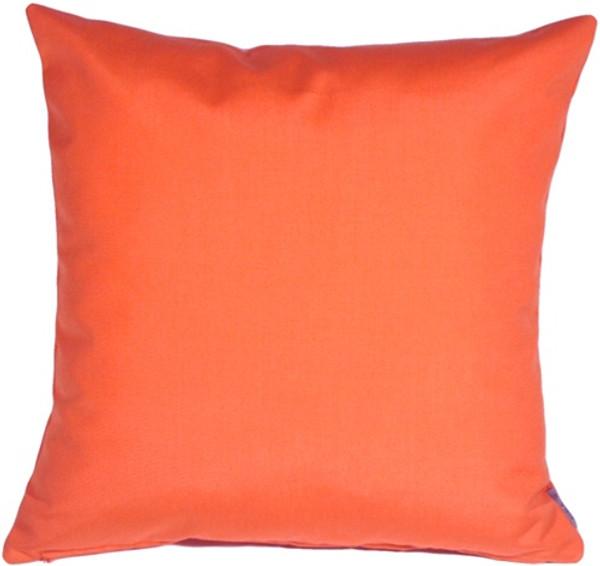 Sunbrella Melon 20x20 Outdoor Throw Pillow