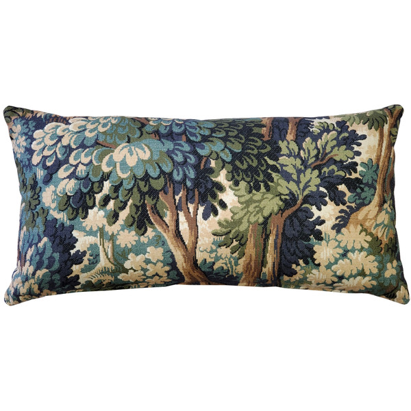Somerset Woods by Day Throw Pillow 12x24 - Pillow Decor