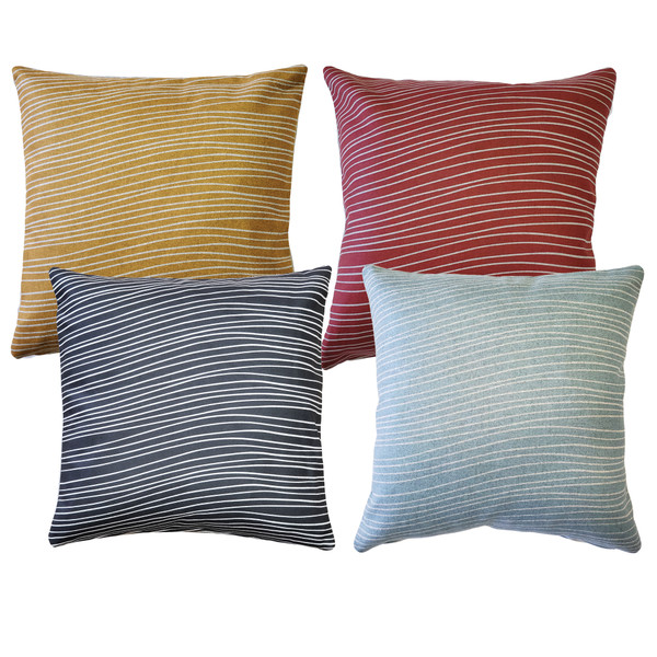 Meraki Throw Pillows 19 Inch Square from PIllow Decor
