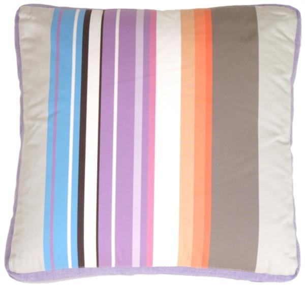 Box Edge Stripes Pillow