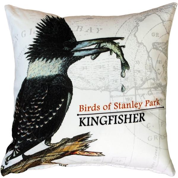 Kingfisher Bird Pillow 18X18
