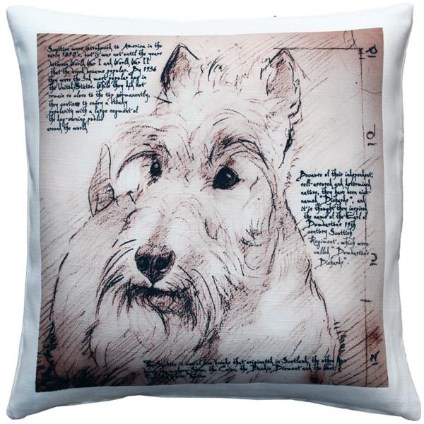 Scottish Terrier Dog Pillow