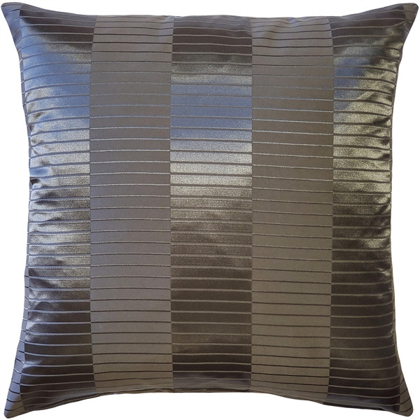 Pinctada Pearl Graphite Gray Pillow 19x19