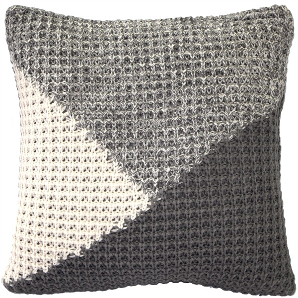 Hygge North Star Knit Pillow