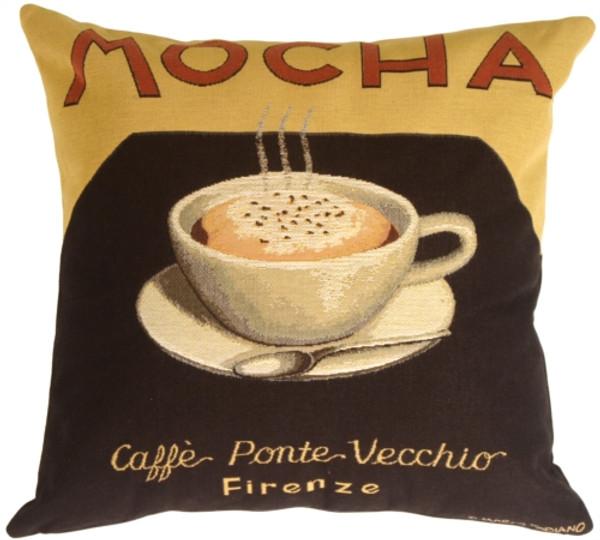 Marco Fabiano Collection Mocha Coffee Throw Pillow