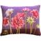Pink Dahlias Rectangular Tapestry Throw Pillow