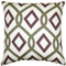 Tuscany Linen Sage Diamond Chain Throw Pillow 20X20