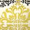 Sumatra Medallion Embroidered Silk Decorative Throw Pillow 21x21
