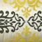 Sumatra Medallion Embroidered Silk Decorative Throw Pillow 12x24
