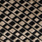 Jager Black Diamond Textured Velvet Throw Pillow 12x20