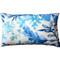 Sea Garden Blue Throw Pillow 12X20