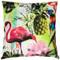 Tropical Oasis Throw Pillow 24x24