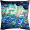 Shoal Cape Abalone Close Up Throw Pillow 20x20