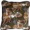 Safari Print Cotton Large Throw Pillow