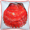 Big Island Bay Scallop Solitaire Throw Pillow 20x20