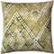 Tangga Green Throw Pillow 20X20