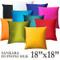 Sankara Silk Throw Pillows 18x18