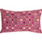 Houndstooth Spheres 12x20 Pink Throw Pillow