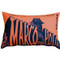Marco Polo Theatre Restaurant 12x20 Sienna Throw Pillow