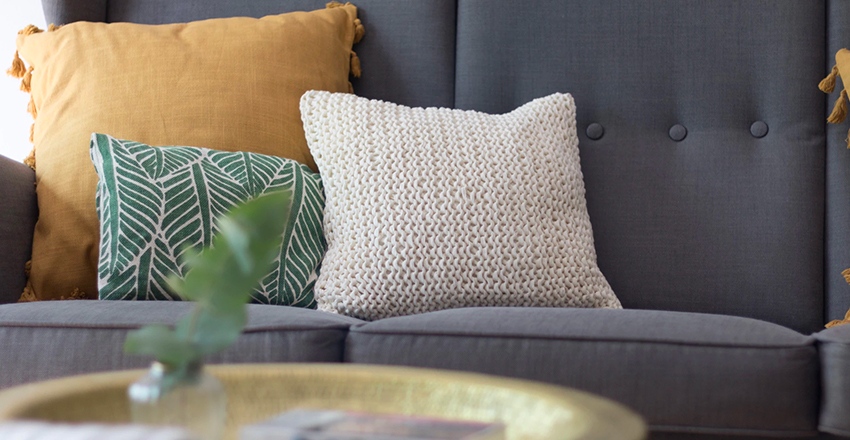 Stuffing a Pillow Cover the Right Way