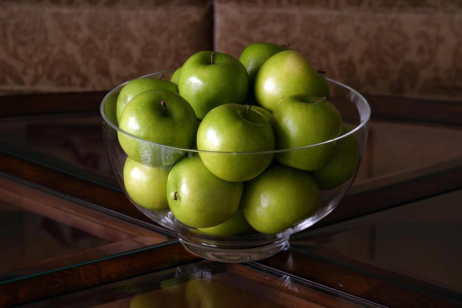 Green Apples Decor