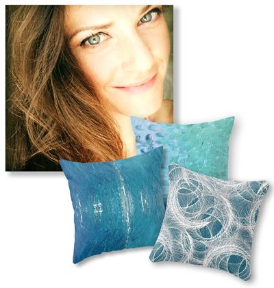 Throw Pillows by Karalina Design