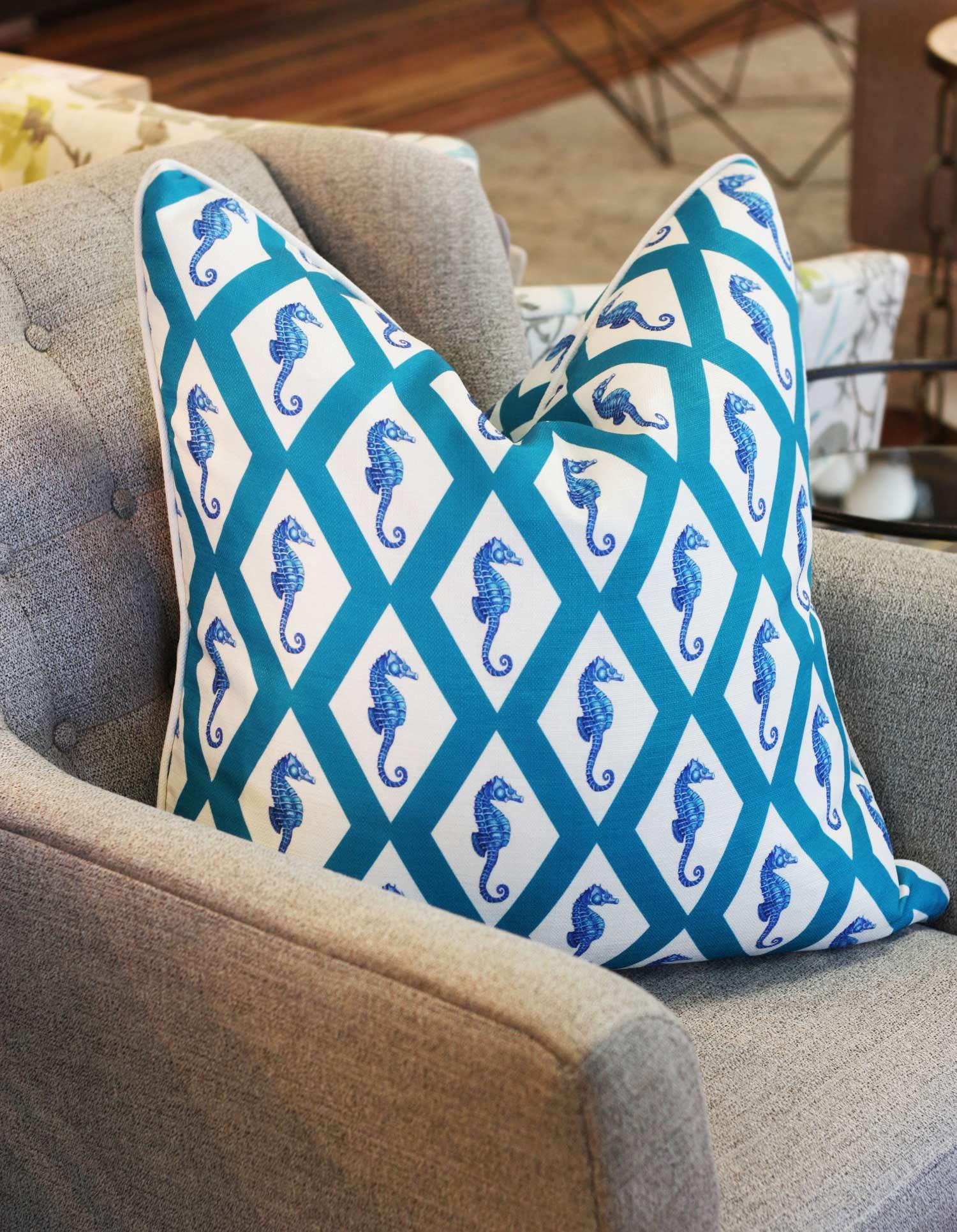 Sea Horse Pillow
