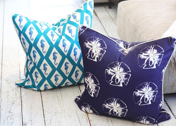 Nautical Pillows from Pillow Decor
