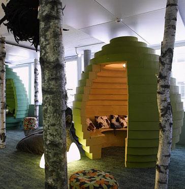Google office design in Zurich