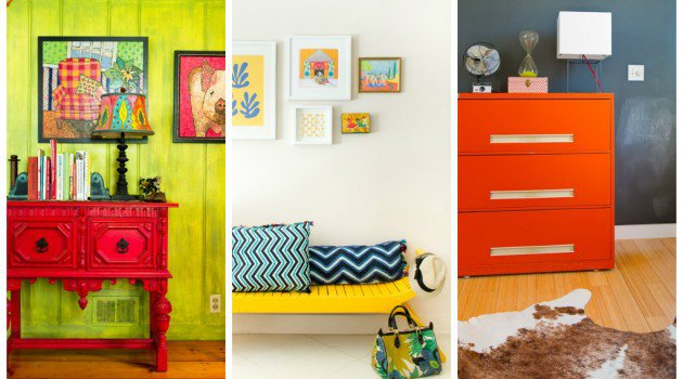 Add personality to your new decor with hand painted furniture Source: http://www.architectureartdesigns.com