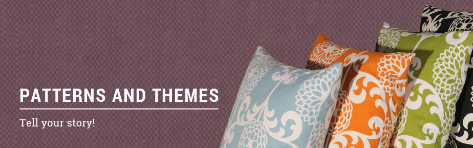 Pillow Patterns and Themes