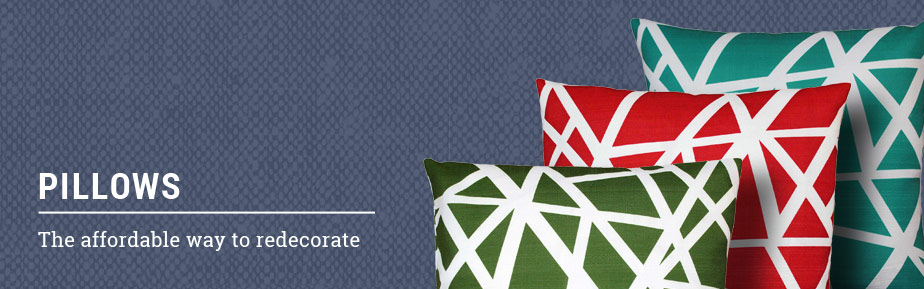 Pillow Decor offers pillows in a wide range of price categories.