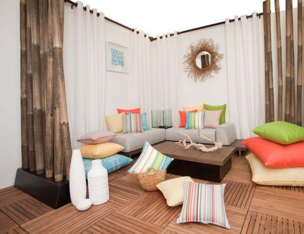 sunbrella floor pillows outdoor