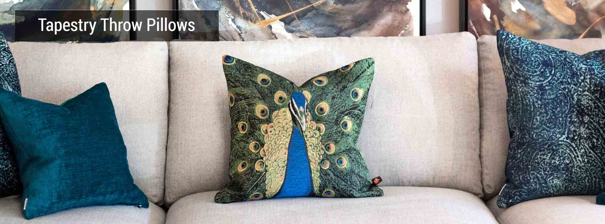 Tapestry Throw Pillows from Pillow Decor