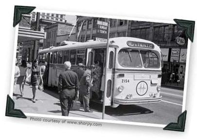 Vancouver Bus Trolley