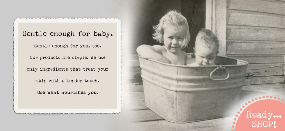 Just Like Jane products are baby-gentle.