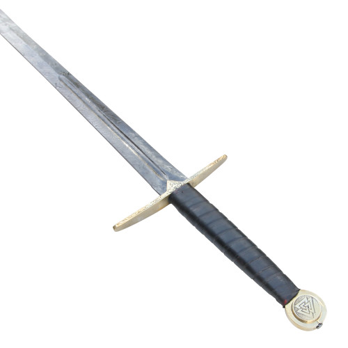 Einherjar Blade of Valhalla Damascus Steel Viking Long Sword