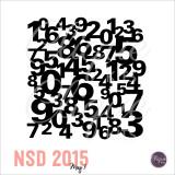 National Scrapbook Day- Digital Die Cut