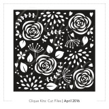 Floral Confetti  | Digital Cut File