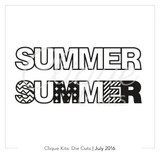 Summer | Digital Die Cut