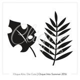 Tropical Leaves  | Digital Die Cut