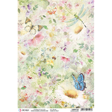 Daisy Butterfly Rice Paper | Microcosmos | Ciao Bella