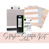 Explore & Learn Kit | Storyline Chapters-Grey Starter Kit | Heidi Swapp
